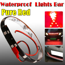 2PCS Red 1Ft/30CM 5050 SMD LED Strip Light for Car Motor ATV Interior/Exterior