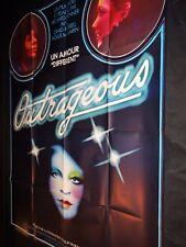 OUTRAGEOUS   affiche cinema  vintage  1977