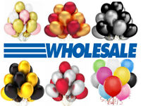 WHOLESALE BALLOONS 50-500 Latex BULK PRICE JOBLOT Quality Any Occasion BALLONS