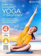 Rodney Yee's Complete Yoga for Beginners Region 1 DVD