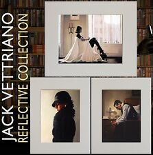 'A Reflective Collection' - Jack Vettriano Set of Three Mounted Prints 2017©