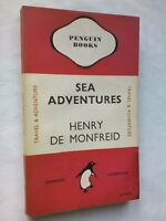 HENRY DE MONFREID SEA ADVENTURES 1ST/1 1946 PENGUIN 533 TRAVEL ADVENTURE HASHISH