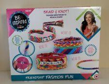 New! Cra Z Art Friendship Bracelet Making Kit Crafts Jewelry Kids Beads Friends