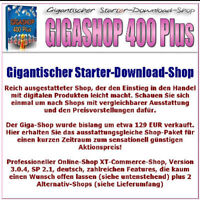 GIGASHOP 400 PLUS +50 eBooks gigantischer Starter Download Giga Shop 1A E-Lizenz