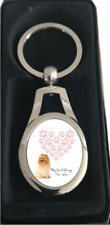 More details for pomeranian keyring dog gift idea pom