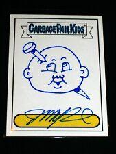 GARBAGE PAIL KIDS 2005 All New Series 4 JOHN POUND Sketch Card BLUE OS3 85 -ANS4