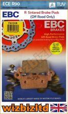 Pastillas de freno EBC color principal morado para motos
