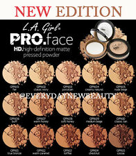 LA L.A. Girl PRO Matte Pressed Face Powder HD.High Definition, Flawless