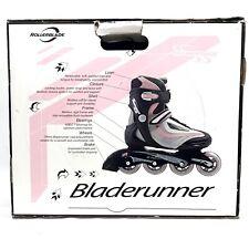 Euc Bladerunner Pro W Inline Skates Rollerblades Unisex Sz 8 Black/Pink/Grey