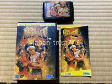 Sega Genesis -Bare Knuckle III 3- Japan Import Japanese version Mega Drive