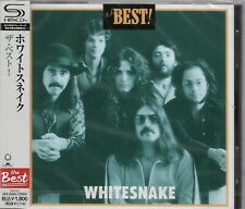 WHITESNAKE BEST OF JAPAN 2012 RMST SHM CD  BRAND NEW/FACTORY SEALED GIFT QUALITY