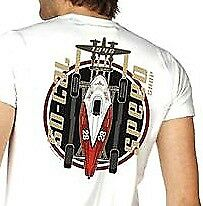 SoCal Speed Shop P38 Belly Tank T-Shirt - White