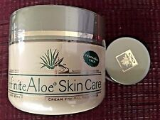 Fragrance Free Infinite Aloe Skin Care 8 OZ and one 0.5 OZ Jars, Free Shipping