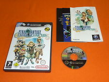 Nintendo GameCube juego: final Fantasy Crystal Chronicles