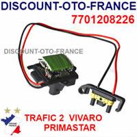Resistance Chauffage Ventilation RENAULT Trafic 2 OPEL Vivaro VALEO 509899