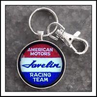 AMC Javelin American Motors shoulder patch photo keychain Gift