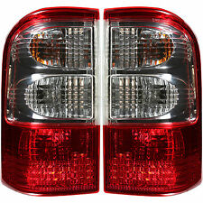 Rear Position Lamps Tail Lights Set FOR NISSAN PATROL GR II WAGON (Y61) Built