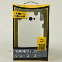 OtterBox Commuter 2-Layers Hard Shell Case Snap Cover For HTC One X White/Gray