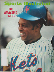 1972 Sports Illustrated The Amaysing Mets Willie Mays May 22