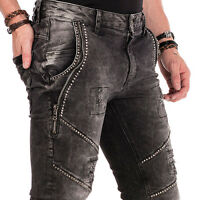 CIPO & BAXX BLADE MENS JEANS DENIM SLIM FIT TRUE SIZES