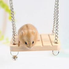 Pet Hamster Souris Balançoire En Bois Petit Animal Cage For hamster