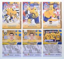 2020 BY cards IIHF U20 World Championship Team Sweden BASE Pick a Player Card