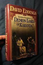 David Eddings DEMON LORD OF KARANDA 1st edition, 1st printing