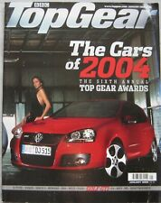 Top Gear magazine 01/2005 featuring 2004 car of the year, Land Rover, Toyota,BMW