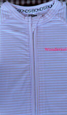 Baby Bonds Zip Wondersuit Pink Stripes size 00 One Pieces age 3 to 6 Months