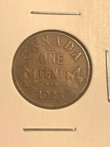 1923 CANADA PENNY 1 CENT KEY DATE!