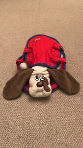Vintage Barking Pound Puppies And Carrier
