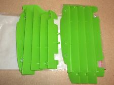 New Green Radiator Guards Covers Grills Kawasaki KX450F KX 450F 2010 2011-2015