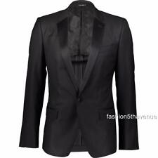 Dolce & Gabbana Lana Smoking Cena Chaqueta Blazer IT54 US/UK44 RRP1900GBP Nuevo
