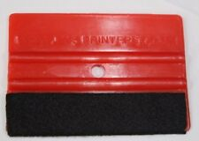 Red Sign Squeegee Felt Edge Vehicle & Window Tinting Wrapping - buy 5 get 1 free