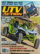 UTV Action March 2017 Mud Tire Buyer's Guide Wildcat 1000 ATV FREE SHIPPING sb
