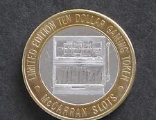 1994 McCarran Airport Casino Slot Machine Silver Strike Las Vegas Nevada D5843