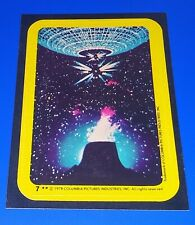 1978 Topps Close Encounters Of The Third Kind Sticker #7 Richard Dreyfuss Movie