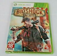 BioShock Infinite (Microsoft Xbox 360, 2013) NTSC-J Brand New Factory Sealed !!