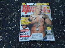 NOV 2004 MUSCLE & FITNESS vintage bodybuilding magazine JOHN CENA - WWE