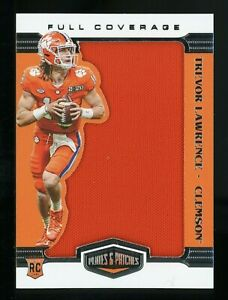 2021 Panini Chronicles Draft Plates & Patches Trevor Lawrence RC Jersey JAGUARS
