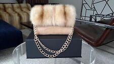 NEW Nancy Gonzalez sable fur crocodile handbag bag purse Hermes very RARE