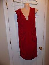 Maggy London Women's Matte Jersey Dress Red (14)