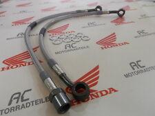 Honda CB 250 350 360 Stahlflex Bremsleitung Set Titan 1 Bremsscheibe Lenker Hoch