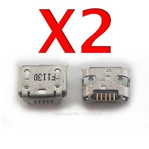 2X Huawei Prism 2 U8686   Mercury M886 USB Charger Charging Port Dock Connector