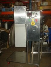 New listing Stainless Steel 2.2 cu. ft. Lab Bin Blender with 16 qt. and 4 qt. Twin Shell