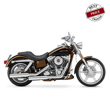 Quick Detachable Bag System For Dyna & Fat Bob - with or without hard mount BR