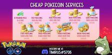 Pokemon Go XP Farm! 19000 Pokecoins! 14500+4500 FREE!!