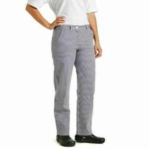 cotton chef trousers whites uk made high quality small check baker chefs butcher