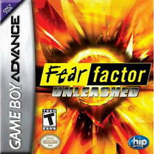 Fear Factor Unleashed GBA New Game Boy Advance