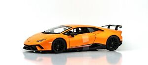 Lamborghini Huracan Performante 1:18 Model Car Maisto Special Edition, New